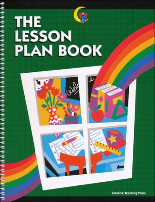 Rainbow Lesson Plan Book   -