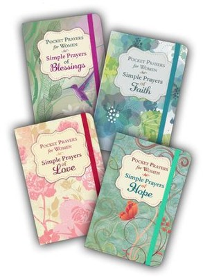 Pocket Prayers for Women: 4-Book Set  -
