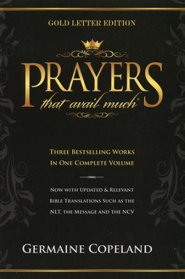 Prayers That Avail Much, Gold-Letter One-Volume Edition   -     By: Germaine Copeland