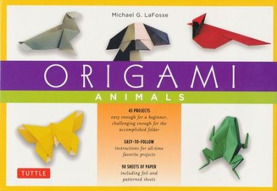 Origami Animals Kit  -     By: Michael G. LaFosse