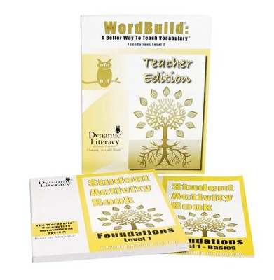 WordBuild &#174: A Better Way To Teach Vocabulary  Foundations 1 Combo Pack  -
