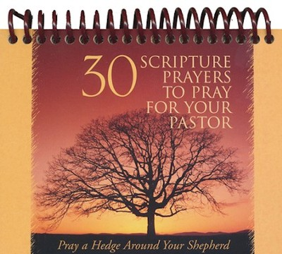 30 Scripture Prayers To Pray for Your Pastor Desktop Reminder  -