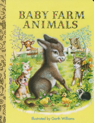 Baby Farm Animals  -     By: Golden Books