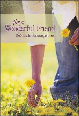 For a Wonderful Friend, 365 Little Encouragements Book  -