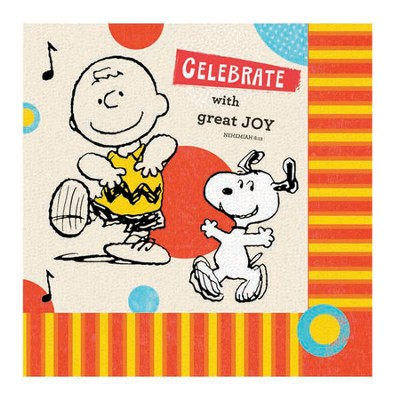 Peanuts Paper Lunch Napkins, Package of 16  -
