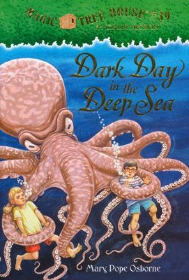Magic Tree House #39 Dark Day in the Deep  -     By: Mary Pope Osborne     Illustrated By: Sal Murdocca