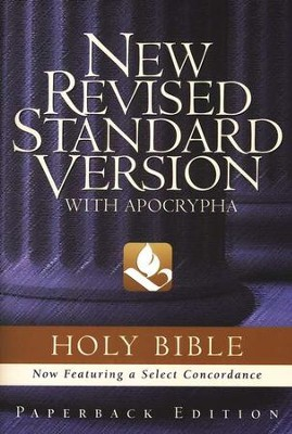 NRSV Text Edition Bible, Softcover   -