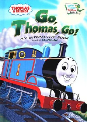 Thomas & Friends: Go, Thomas, Go! An Interactive Board Book   -     By: Rev. W. Awdry