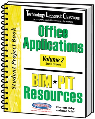 Technology Lessons for the Classroom: Office  Applications Volume 2, Texas Version (2nd Edition)  -     By: Charlotte Haley, Renee Fuller