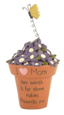 I Love Mom, Her Worth is Far Above Rubies Figurine  -