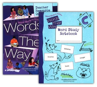 Words Their Way 3rd Grade Homeschool Bundle   -