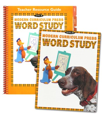 MCP Plaid Phonics Word Study Level D/Grade 4, 2003 Ed. Kit   -