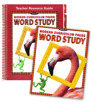 MCP Plaid Phonics Word Study Level F/Grade 6, 2003 Ed. Kit   -
