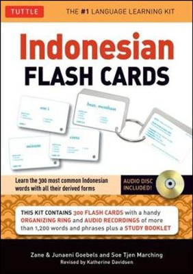 Indonesian in a Flash  -     By: Zane Goebel, Junaeni Goebel, Soe Tjen Marching