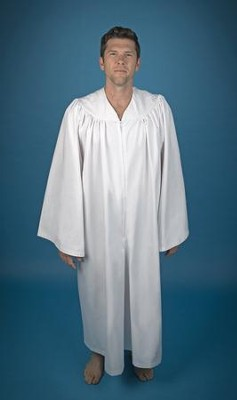 Jumpsuit Baptismal Robe for Men, Medium   -