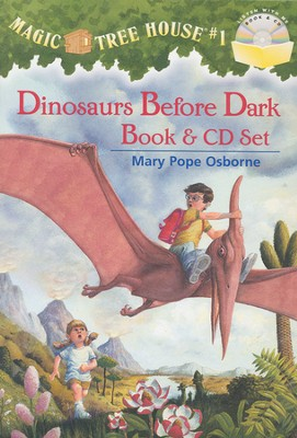 Magic Tree House #1: Dinos Before Dark - Book & CD  -     By: Mary Pope Osborne     Illustrated By: Sal Murdocca