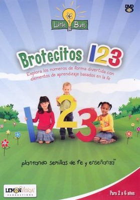 Little Buds Brotecitos 123 DVD  -     By: Deedra Scherm