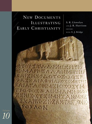 New Documents Illustrating Early Christianity, Volume 10   -     By: S.R. Llewelyn