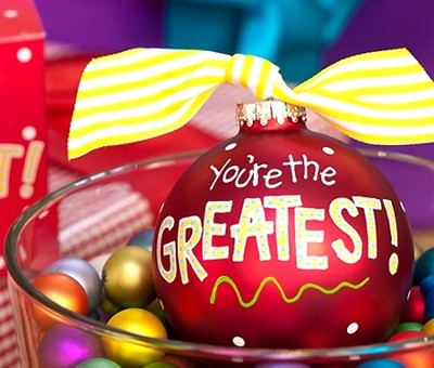 You're the Greatest, Ornament to Personalize, Gift Boxed  -
