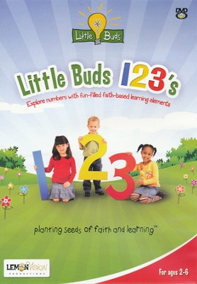 Little Buds 123's DVD  -     By: Deedra Scherm