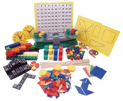 Saxon Mathematics K-3 Home Study Manipulative Kit   -