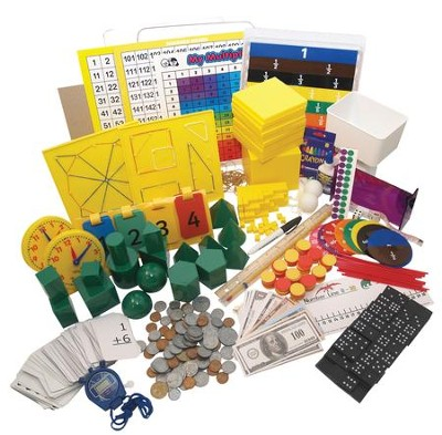 Horizons Math Manipulatives Kit for Grades K to 3   -