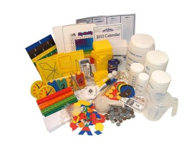 Horizons Math Manipulatives Kit, Grades 4-6   -