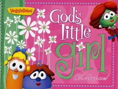 God's Little Girl-Photo, Sticker and Activity Book   -