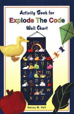 Explode the Code Wall Chart Activity Booklet     -