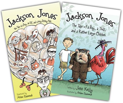 Jackson Jones vol 1, paperback & Jackson Jones vol 2, hardcover  -