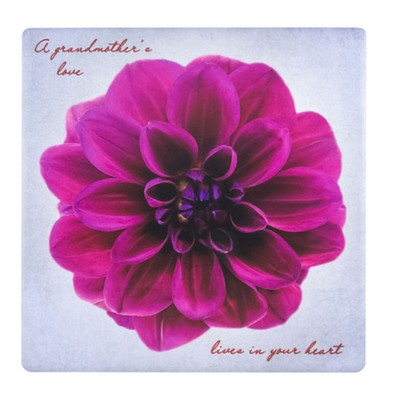 A Grandmother's Love Lives In Your Heart Tile  -