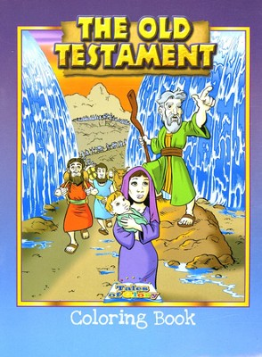 The Old Testament Coloring Book   -