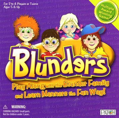 Blunders: We Make Learning Manners Fun!   -     By: Aimee Symington