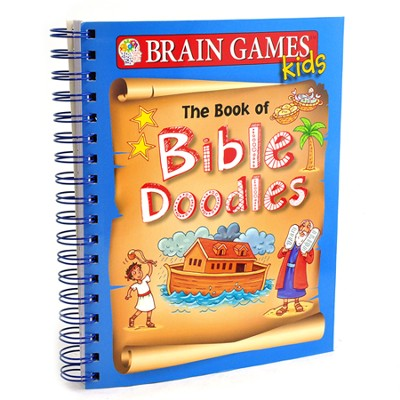 The Brain Games: Book of Bible Doodles  -