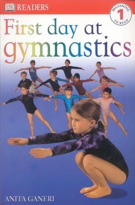 DK Readers, Level 1: First Day At Gymnastics   -
