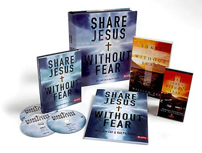 Share Jesus Without Fear, Revised, DVD Leader Kit  -     By: William Fay & Ralph Hodge