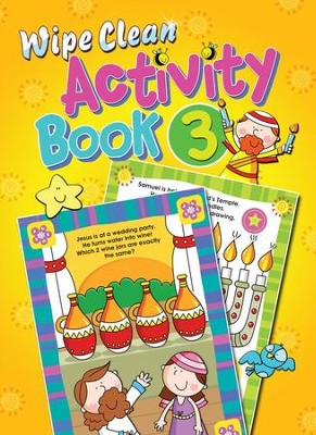 Wipe Clean Activity Book 3  -     By: Juliet David