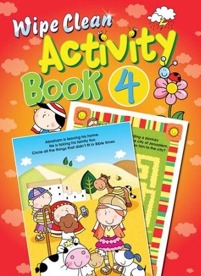 Wipe Clean Activity Book 4  -     By: Juliet David