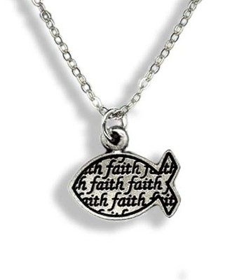Faith Ichthus Pendant  -