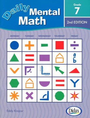 Daily Mental Math 7, 2nd Edition   -     By: Eddy Krajcar