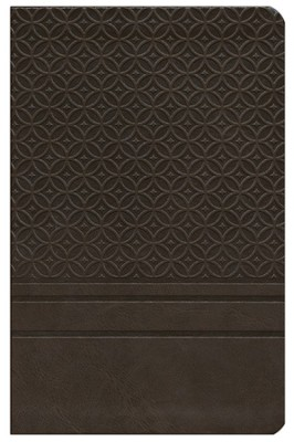 KJV Personal-Size Giant-Print Reference Bible,  Imitation Leather-espresso   -