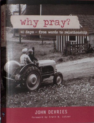Why Pray? 40 Days from Words to Relationship   -     By: John F DeVries