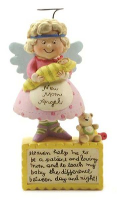 New Mom Angel Figurine  -