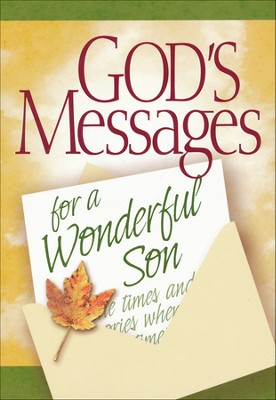God's Messages for My Son Book  -