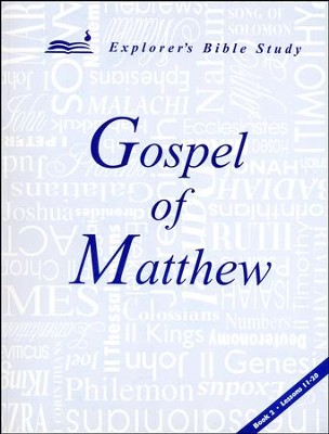 Matthew, Book 2 (Lessons 11-20)   -