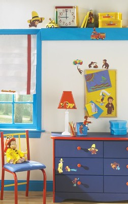 Curious George, Vinyl Wall Stickers  -