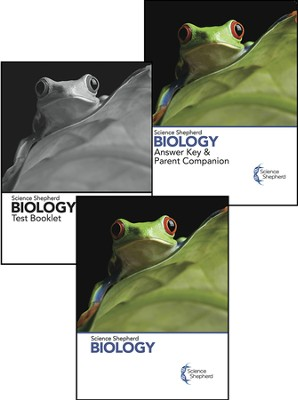 Science Shepherd Biology 3 Book Set (Textbook, Test Book, and Answer Key), 2nd Edition   -     By: Scott Hardin