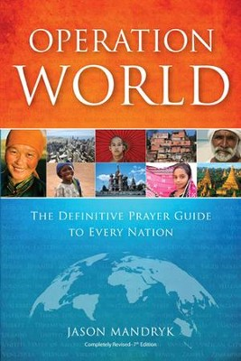 Operation World (plus CD): The Definitive Prayer Guide to Every Nation  -     By: Jason Mandryk