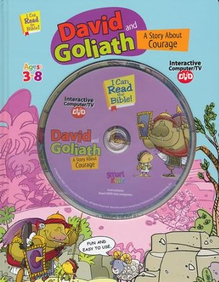 David And Goliath with Interactive Computer DVD  -     By: Ron Berry     Illustrated By: Chris Sharp