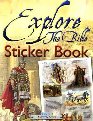 Explore the Bible--Sticker Book   -     By: Tim Dowley